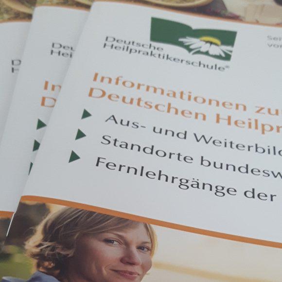 Die Deutsche Heilpraktikerschule auf dem Naturheilkundetag in Hannover am 16. September 2017