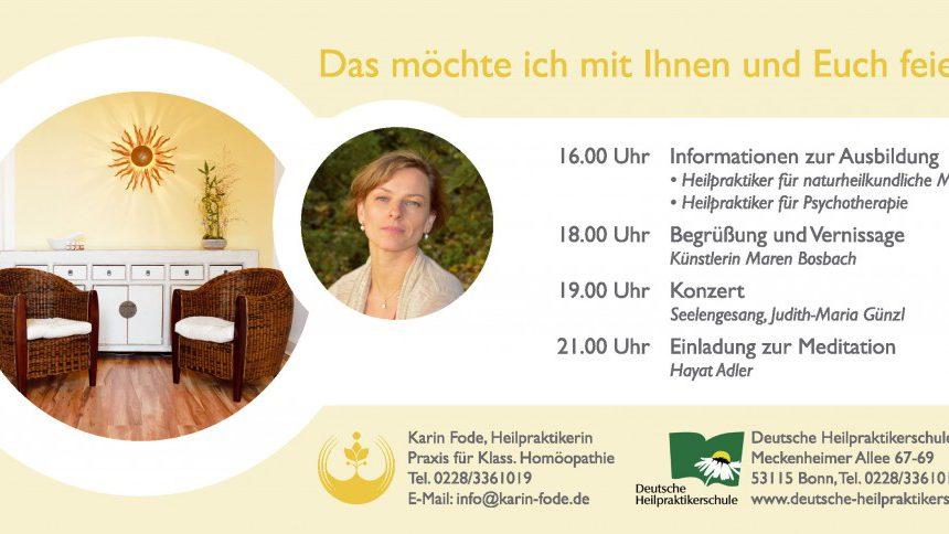 6 Jahre Deutsche Heilpraktikerschule Bonn