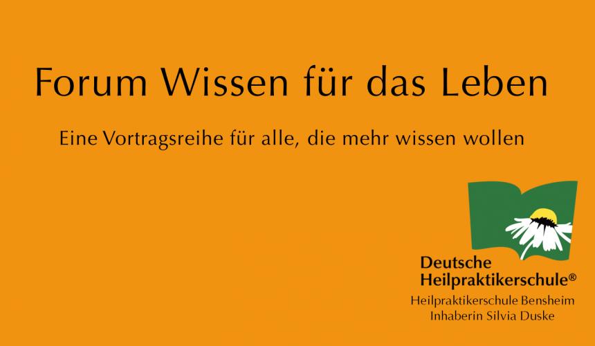 Spannende Vortragsreihe in Bensheim