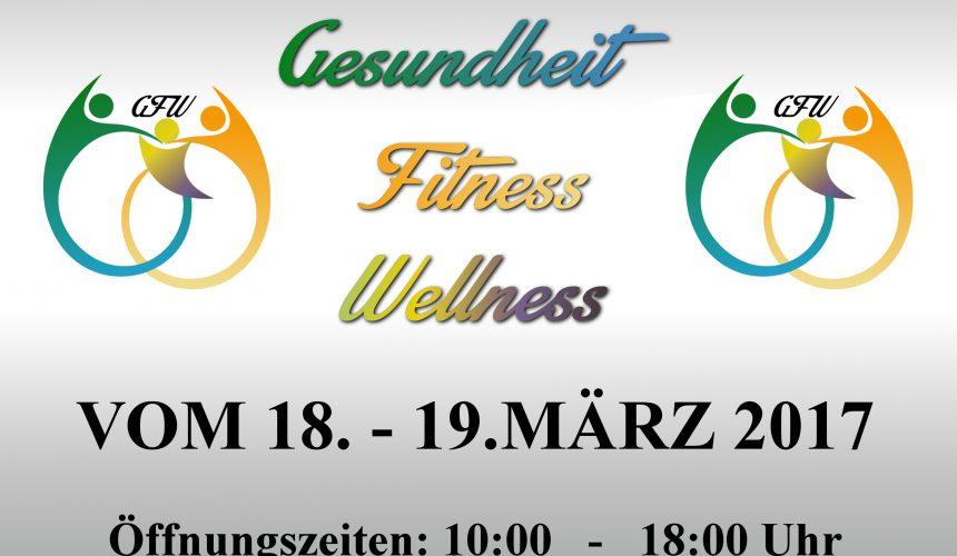 Wir sind dabei! Gesundheit-Fitness Wellness-Messe St. Ingbert