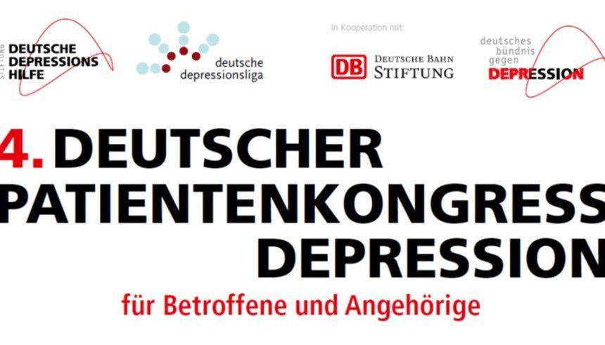 4. Deutscher Patientenkongress Depression in Leipzig