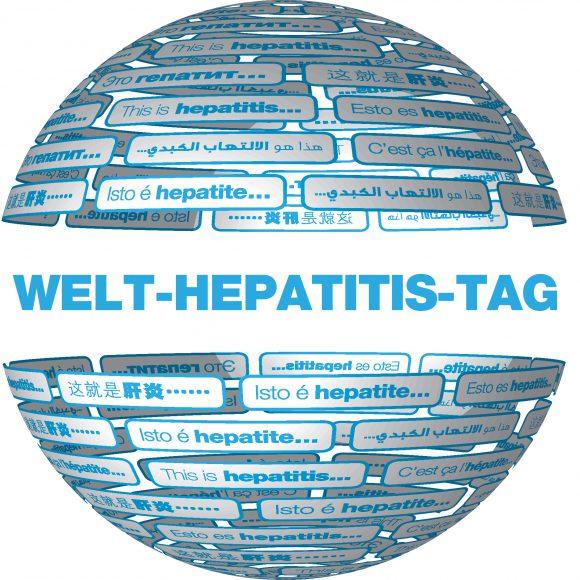 """Unter dem Motto """"Hepatitis eleminieren!"""" findet am 28.07.2017 der Welt-Hepatitis-Tag statt."""