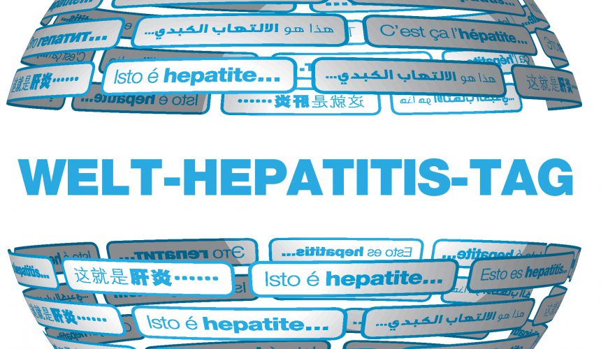"Unter dem Motto ""Hepatitis eliminieren!"" findet am 28.07.2017 der Welt-Hepatitis-Tag statt."