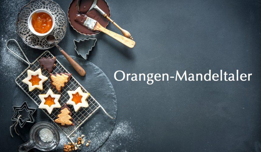 Leckereien ohne Zuckern, ohne Gluten und ohne Lactose: Orangen-Mandeltaler