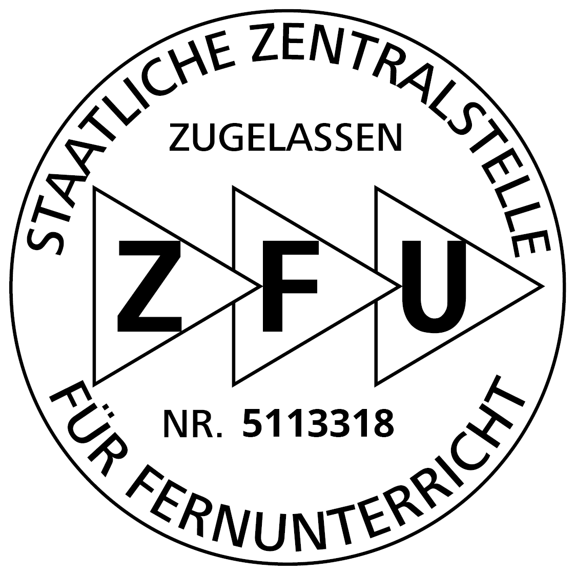 Heilpraktikerausbildung im Fernlehrgang - ZFU-Siegel