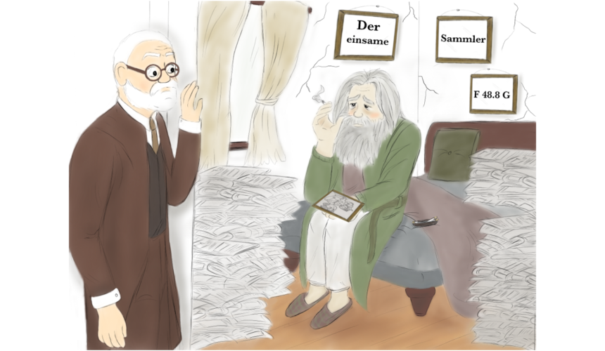 Sprechstunde bei Dr. Freud: Der einsame Sammler