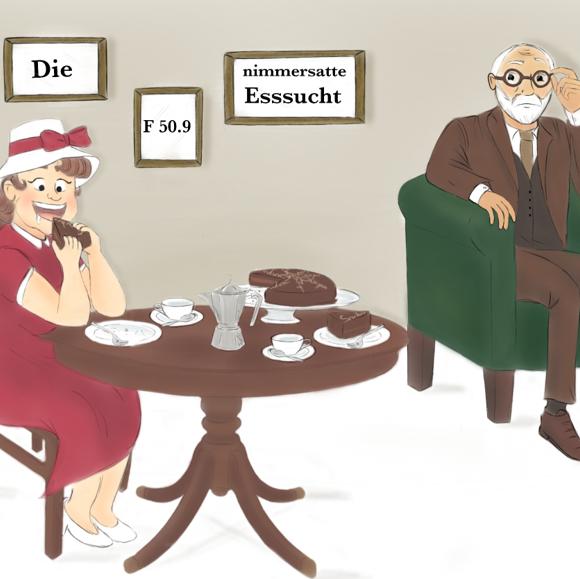 Sprechstunde bei Dr. Freud: Die nimmersatte Esssucht