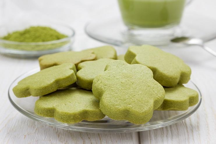 Rezept: Weihnachtliche Grüntee-Kekse