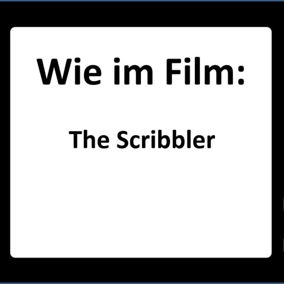 Wie im Film: The Scribbler – Unzip your head
